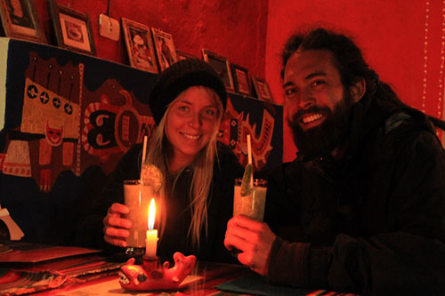 Happy Guests at Pachamama