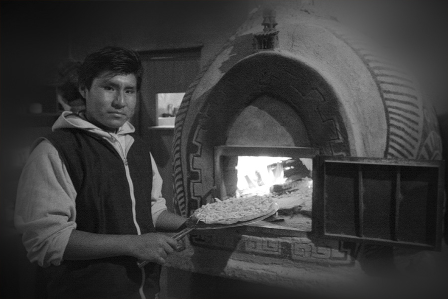 Wood-fired Pizzeria!