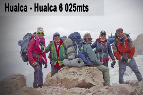 2016 climbing with friens Hualca Hualca