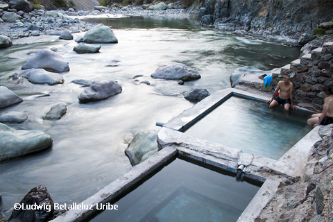 Hot Springs at Llahuar