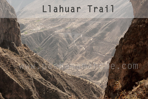 Trail to Llahuar from Cabanaconde