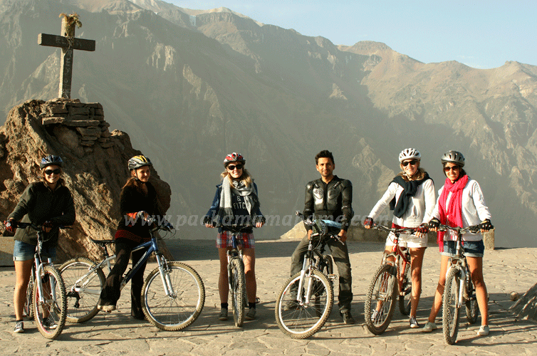 biking colca canyon